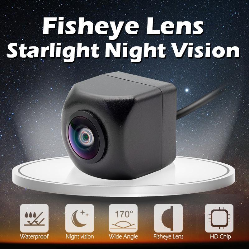 HD cámara de visión trasera de coche 170 grados de ángulo 1