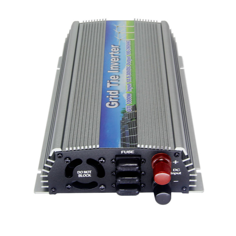 MAYLAR@ DC 10.5-30V 1000W Pure Sine Wave Solar On Grid Tie Inverter Output 90-140V For Vmp18V panels System with MPPT Function mini power on grid tie solar panel inverter with mppt function led output pure sine wave 600w 600watts micro inverter