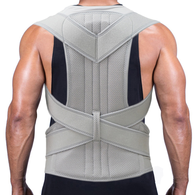 2019 Posture Corrector Orthopedic Shoulder Pain Lumbar Support Back Brace Belt Straps Adjustment Belt Therapy Posture Corset