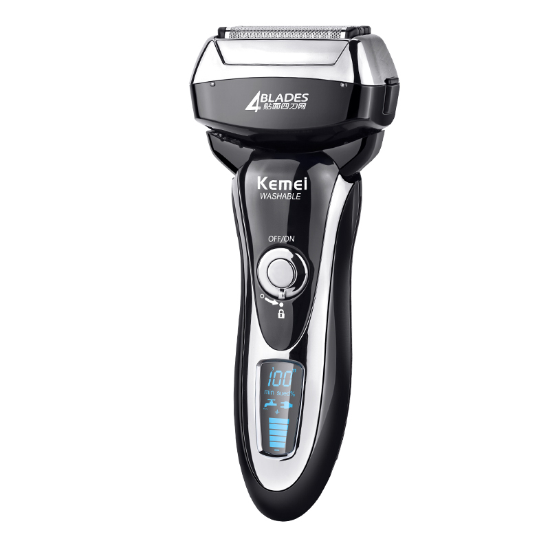 Beard Trimmer Blade Maglev Cutting System Electric Shaver 14000r/min Hign Speed Motor Shaver Razor With LED Display 100-240V philips brl130 satinshave advanced wet and dry electric shaver