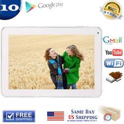 "Оптовая продажа фабрики 10. ""Android 4,2 Tablet PC Dual Core Allwinner A20 1,2 ГГц 8 г/1 г емкостный сенсорный экран HDMI Wi-Fi камера"