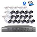 Techage 16CH 1080P NVR Poe sistema de cámaras de seguridad 16 Uds 2MP de Audio HD sonido registro de seguridad CCTV Kit de videovigilancia P2P vmeyesuper de|Sistema de vigilancia| |  -