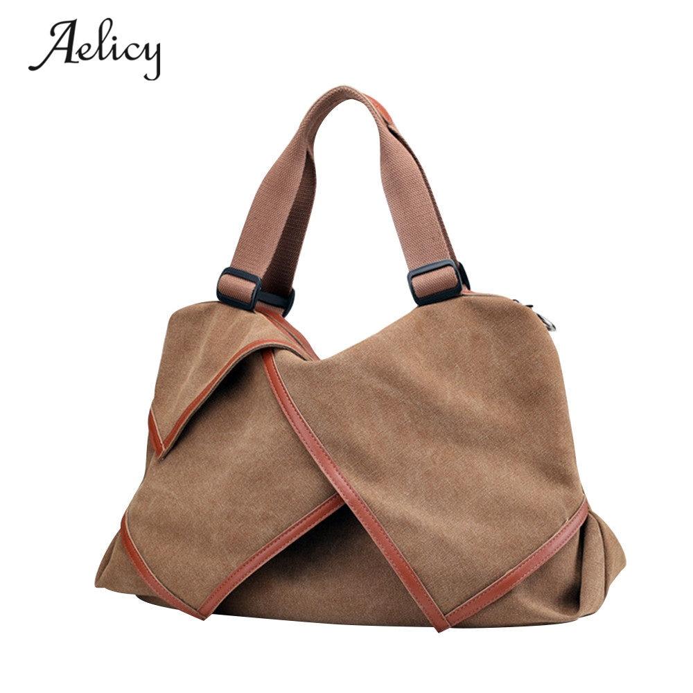 Designer Woman Handbag Female Canvas Handbag Shoulder Bags Crossbody Tote D40