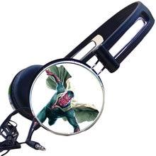 Visão em quadrinhos The Avengers Gaming Headset Fone de ouvido Com Cancelamento de Ruído Fones de Ouvido Estéreo de Fone De Ouvido para o Jogo de Vídeo Do Telefone Móvel Mp3 PC Presente