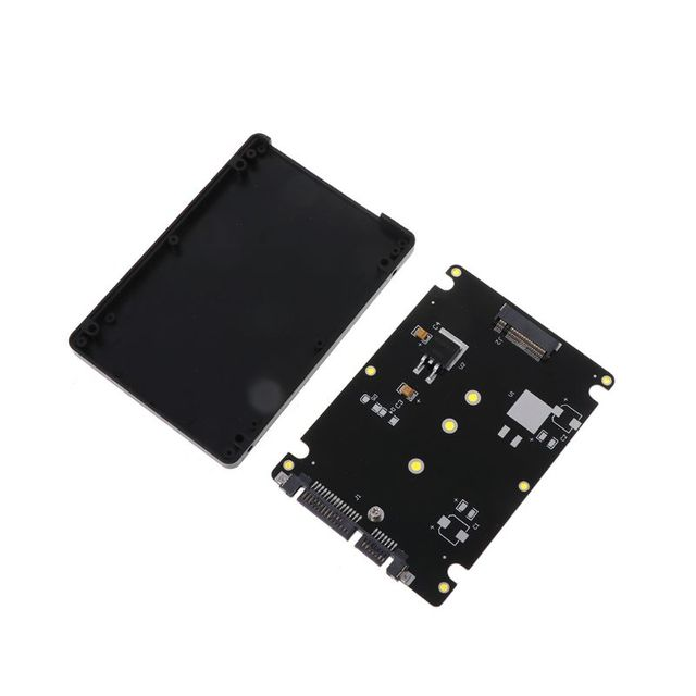 """Kèm M.2 NGFF SSD SANG 2.5 """"SATA Adapter Card Với 7 MM Độ Dày Ốp Lưng Mới-MÁY TÍNH Người Bạn"""