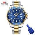 Tevise Marca Homens Relógios Mecânicos Automáticos Relógio Famoso Design de Moda Relógio De Ouro De Luxo horloges Mannen Relogio masculino