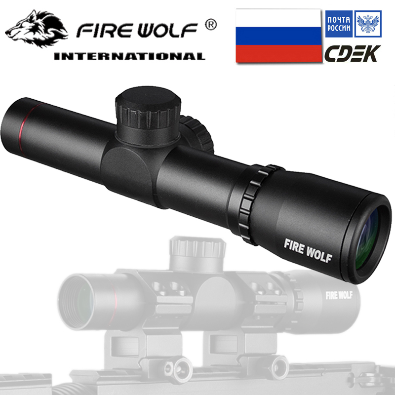Hunting Rifle Scope Tactical Optical Sight P4 Reticle Riflescope With Flip-open Lens Caps and RingsHunting Rifle Scope Tactical Optical Sight P4 Reticle Riflescope With Flip-open Lens Caps and Rings