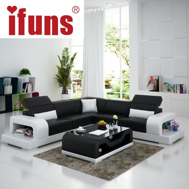 Compra muebles de cuero moderno online al por mayor de for Compra de muebles por internet
