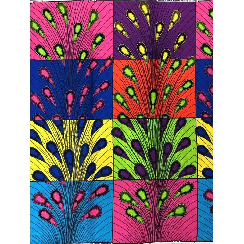 African Java Wax Fabric For Dress, 2019 African Cotton Ankara High Quality Holland Wax Leather Printed Nigerian Fabrics Cloth