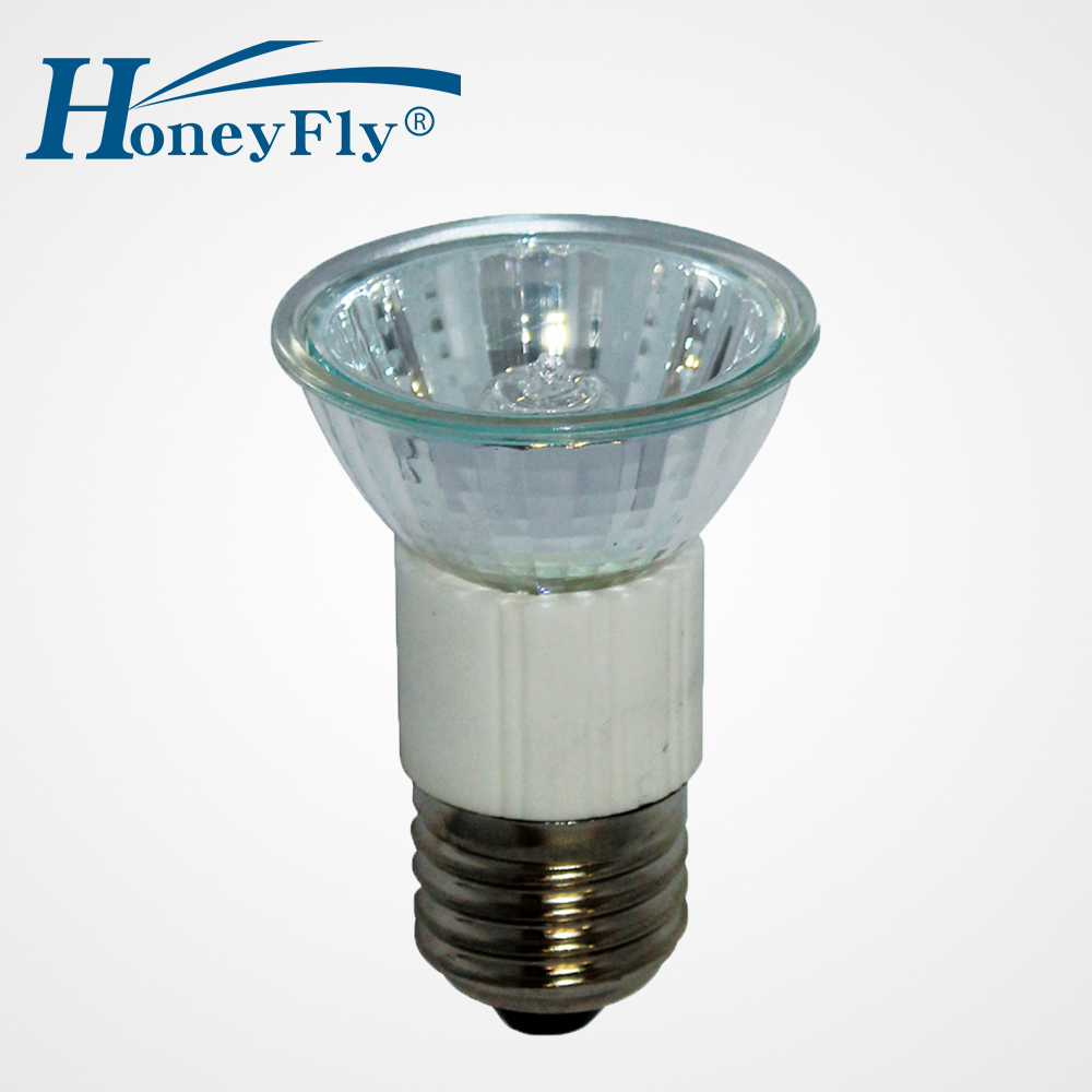 Halogen E27 Us 8 01 10 Off Honeyfly Halogen Lamp 2pcs Jdr 2700 3000k 50w 220v Cup Shape E27 Halogen Bulb Warm White Clear Glass Indoor Decoration Lamba In