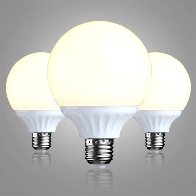 Super Bright 3W 5W 7W LED Bulbs E27 Globe Bulbs Lights G60 G80 220V  Light Warm/Cool White Lampada LED Lamp For Home Spotlight