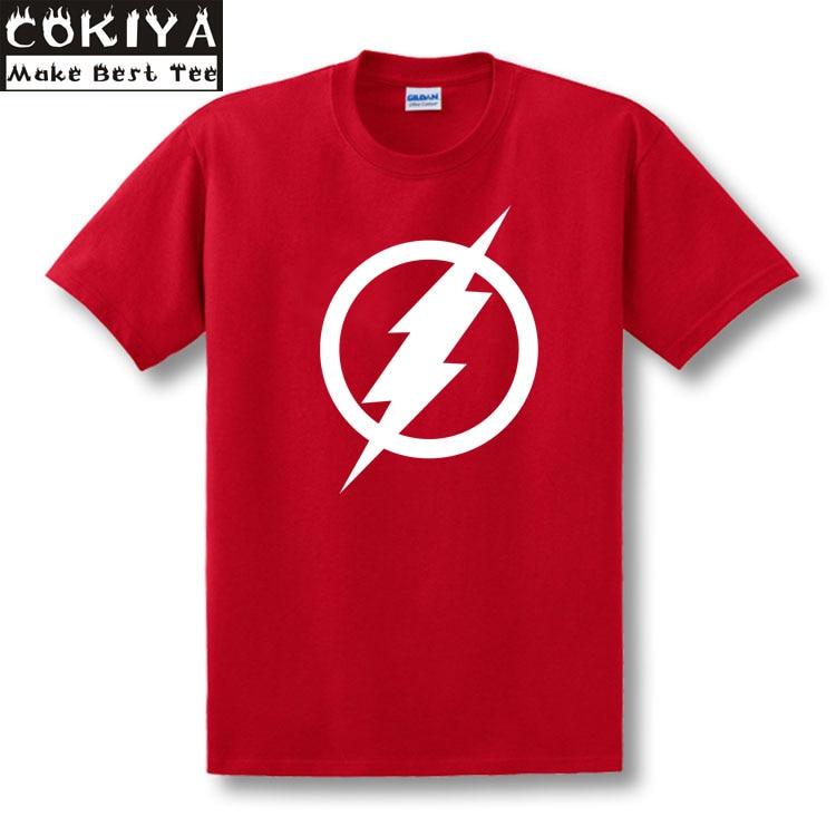 la camiseta roja de la ecuación de FLASH camiseta 100% de algodón - Ropa de hombre - foto 6