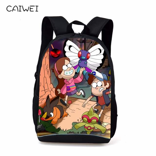 ab1ef5c5bc Online Shop Children Anime Gravity Falls Backpack Boys Girls Cartoon  Adventure Time Backpacks Kids School Bags Bookbag Daily Backpacks Mabel