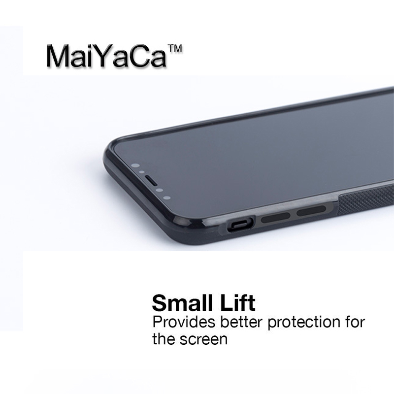 MaiYaCa Avocado Pattern Printed TPU Case For iphone X Full Protective Cover For Apple iphone X Phone Cases
