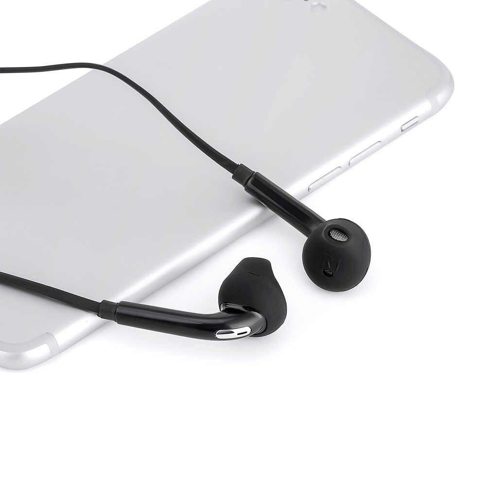 في الأذن سماعة أذن التحكم سماعة أذن سلكية سماعة رأس مزودة بميكروفون لسامسونج S6/S6 Edge 2019 جديد