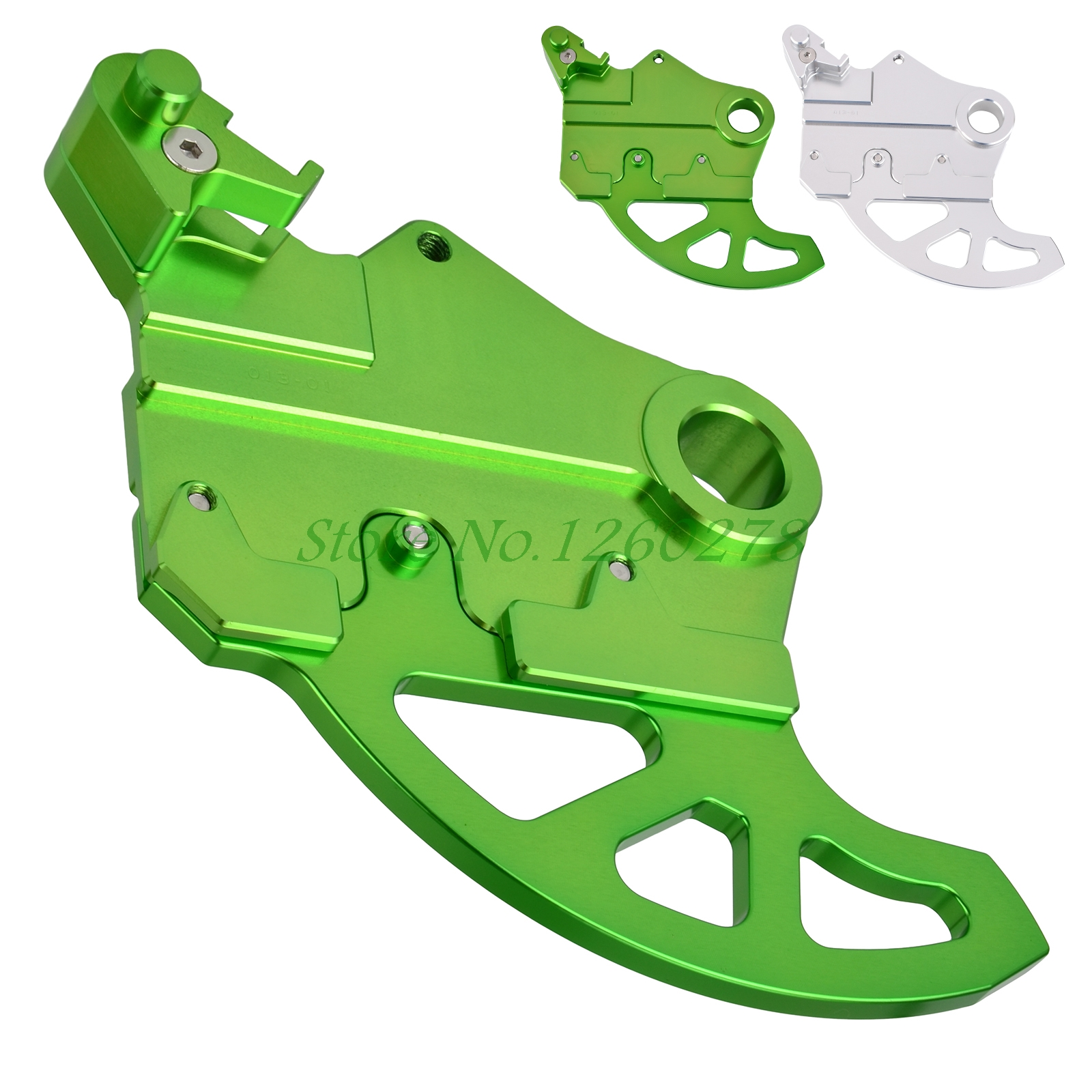 NICECNC Rear Brake Disc Guard Protector For Kawasaki KLX450R 2008 2009 2010 2012 KX250F 2004-2016 KX450F 2006-2016
