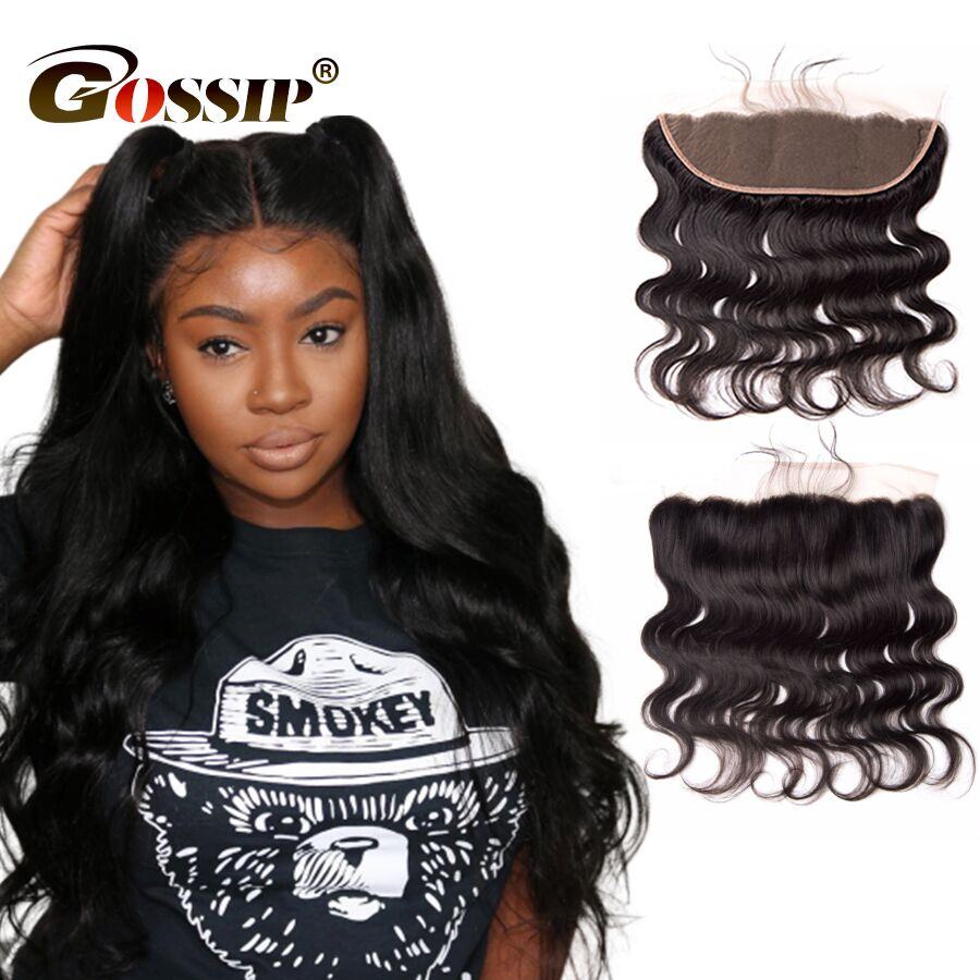 Body Wave Swiss Lace Frontal Closure Brazilian Hair Lace Frontal Closure Pre Plucked Human Hair Closure