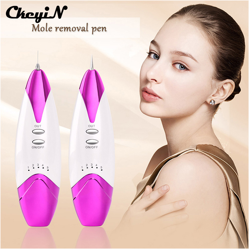 Electric ion Laser Mole Removal Spot Freckle Fleshy Nevus Remove Pen Machine Fluorescence Lamp Facial Beauty