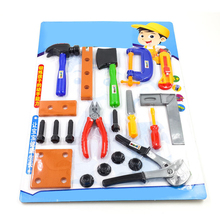 construction tools workshop tools toys for boys girls Hammer screwdriver screwdriver saw hammer ax knife ruler toy chainsaw toys