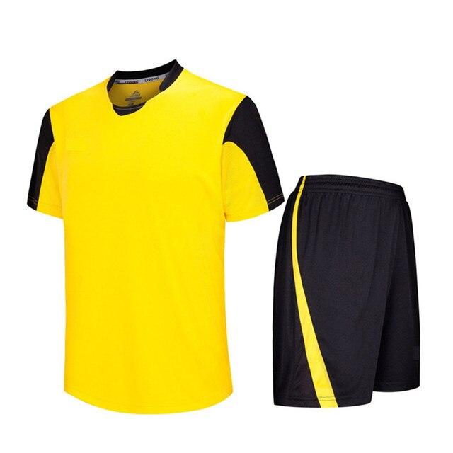 2018 nuevos hombres niños Niños survetement fútbol Camisetas de Soccer  uniformes Jersey camisa corta transpirable traje 22761d06d1db4