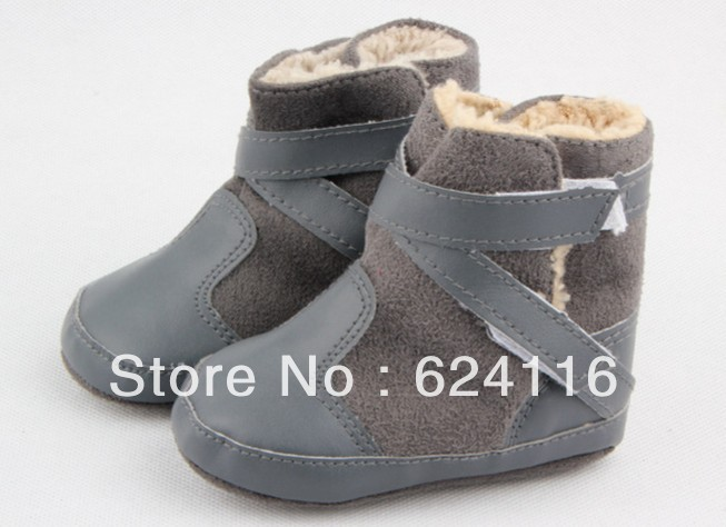 BX92 Baby Cool Cotton Snow winter Boots Baby Shoes Prewalkers First Walkers Footwear Baby Infant Toddler