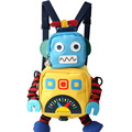 2016 novo robô backpackd Caráter mochila criança saco de escola do bebê anti-perdido Mochila Infantil Saco de Escola Dos Miúdos Mochila de Estudante