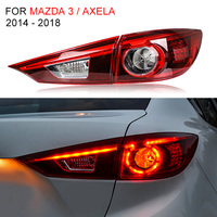 LED Tail Light for Mazda 3 / Axela 2014 2016 2017 2018 Left and Right Side LED Tail Lamp Reverse Light Turning Signal Light