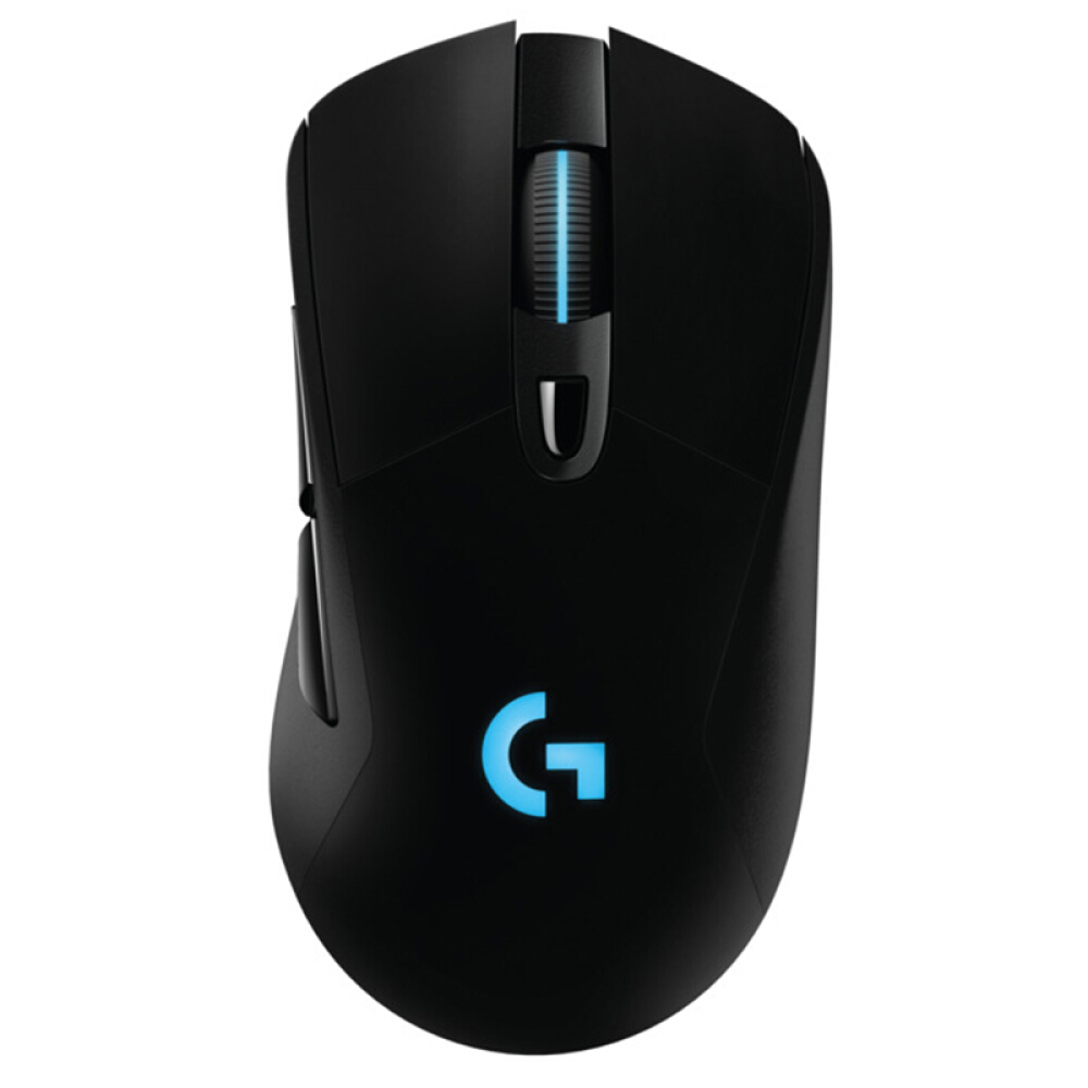 Беспроводная игровая мышь Logitech G703 LIGHTSPEED RGB эргономичный дизайн