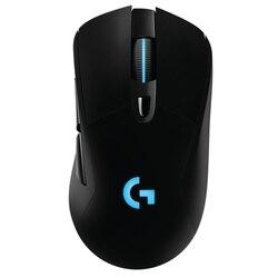 Logitech G703 LIGHTSPEED bezprzewodowa mysz do gier ergonomiczna konstrukcja RGB