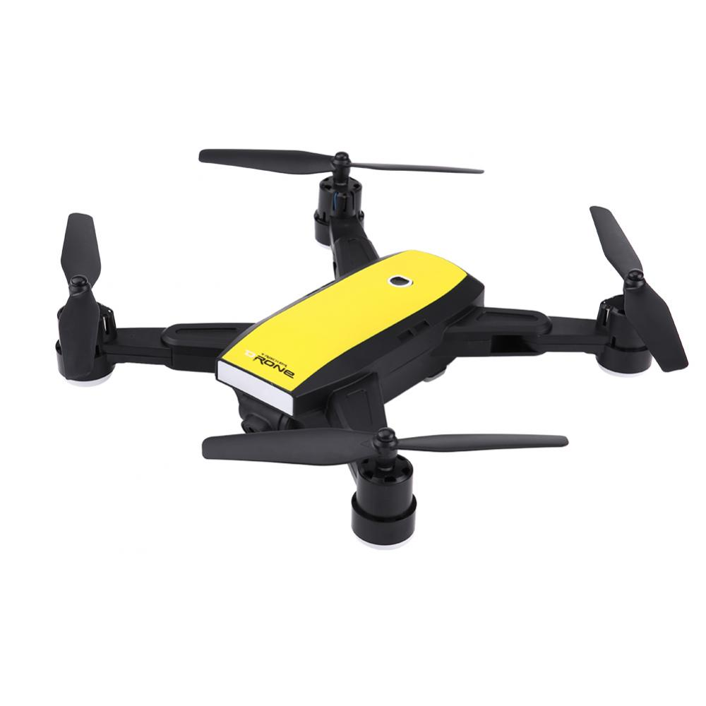 Phone Wifi Drone LED Lights RC Drone Toy Altitude Hold Track Flight FPV RC Quadcopter With 2MP HD Camera for Men Teens Gift 2018
