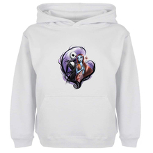 Unisex Sweatshirts For Boy Men Long sleeves The Nightmare Before Christmas jack and sally Spring Autumn Winter Casual Hoodies