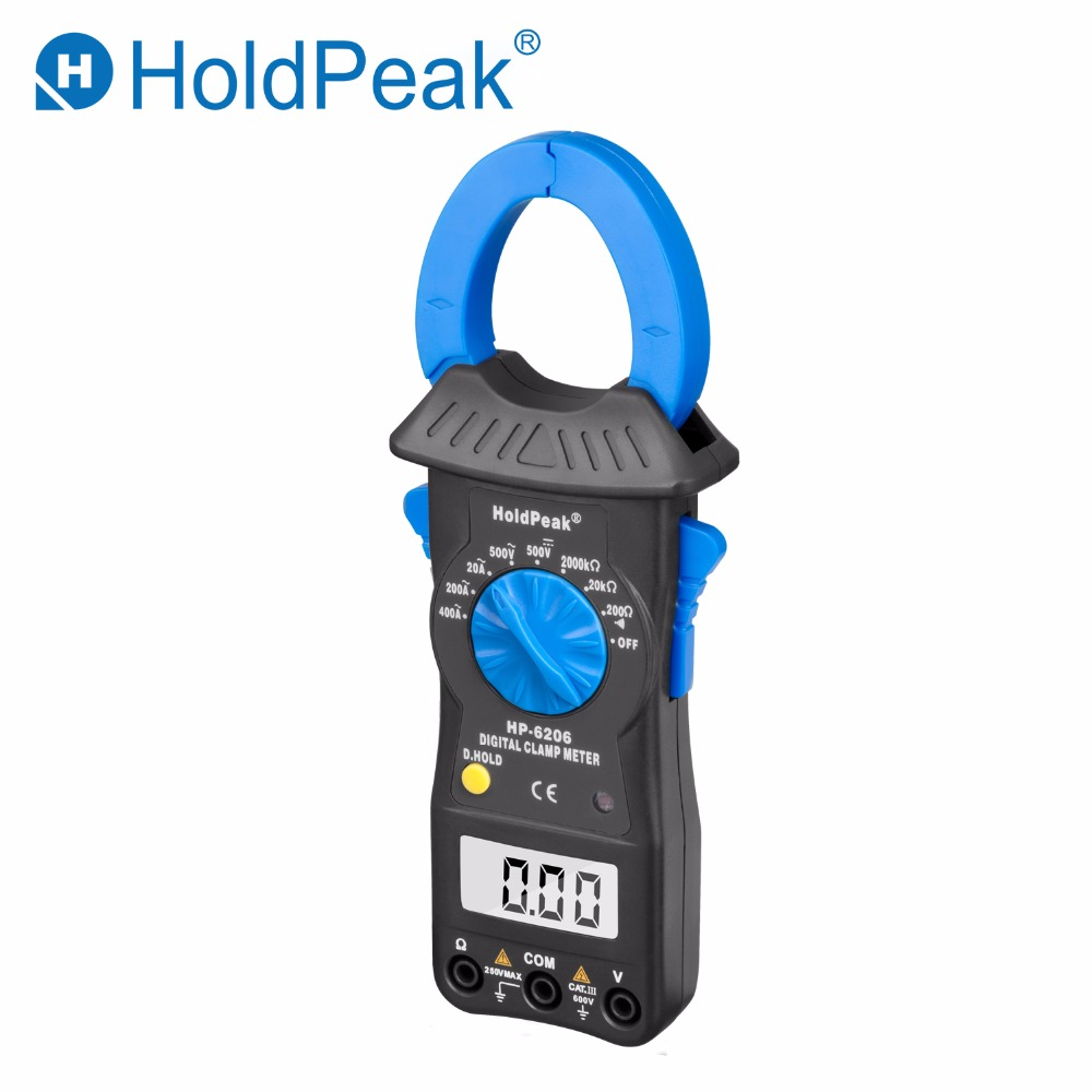 Current clamp Digital Clamp Meter HP-6206 1999 counts Backlight 200A Current AC/DC Voltage Multimeter Voltmeter Ammeter Tester цена