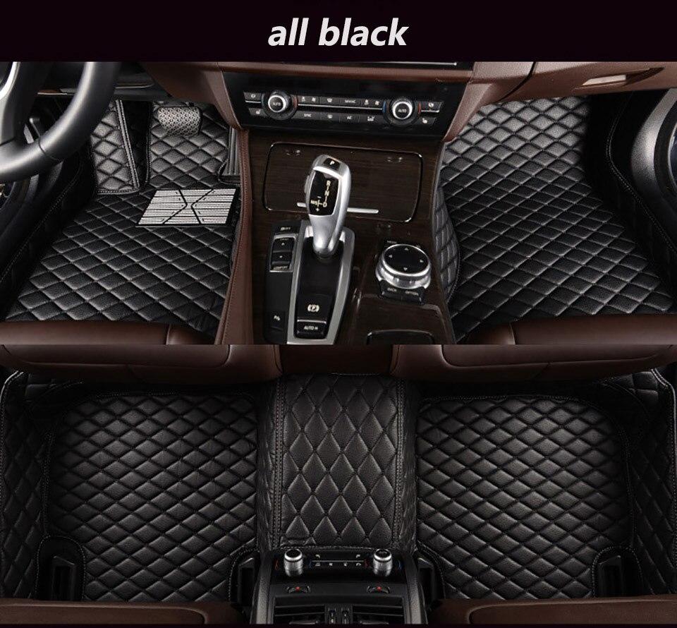 Per GUIDA A SINISTRA Toyota RAV4 IV XA40 2017 2016 2015 2014 2013 Tappetini Auto Tappeti RAV-4 Auto Coperture Styling Personalizzato accessori in pelle