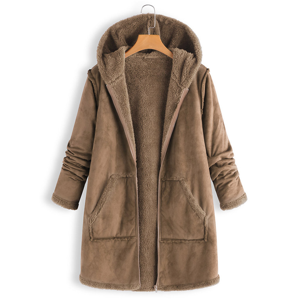 High Quality Hooded Coats Cotton Winter Jacket Womens