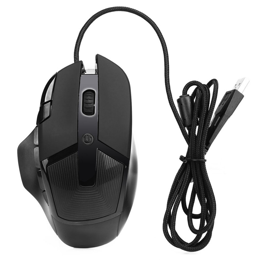 Best Price 3200 DPI 8D Buttons LED Wired Gaming Mouse For PC Laptop