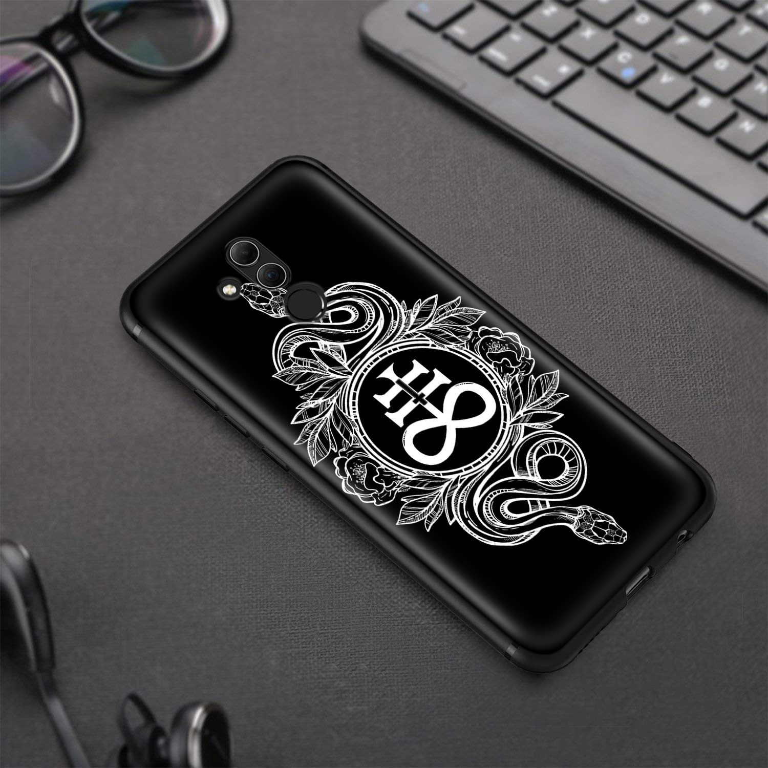 Lavaza Pentagram 666 Demonic Satanic Case for Huawei Honor 10 9 8 8x 8c 7x 7c 7a Note Nova 3 3i Lite Y9 Y7 Y6