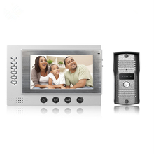 Promo offer FREE SHIPPING 7 Inch TFT Monitor LCD Color SD Card Video Take Picture Record DoorPhone Intercom Waterproof Night Vision Camera