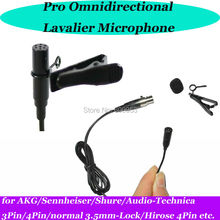 MICWL ME2 New mini Wireless Lavalier Clip Lapel Microphone for Sennheiser AKG Shure Audio-Technica Beltpack