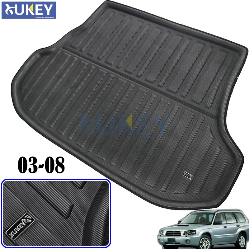 Cargo Mat For Subaru Forester 2003 2008 Rear Cargo Tray Trunk Liner Boot Floor Mat Carpet