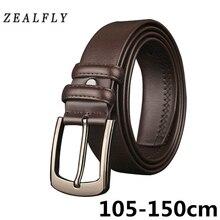 Cinturones de cuero genuino de 150 cm para hombre, cinturón de cuero largo  de gran tamaño, cinturón de alta calidad para hombre,. 6a41fdcfa8a
