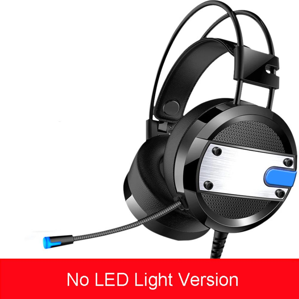 A10 New Wired Gaming Headset Deep Bass Game Earphone Computer Headphones with Microphone LED Light Headphones for PC Laptop Comp