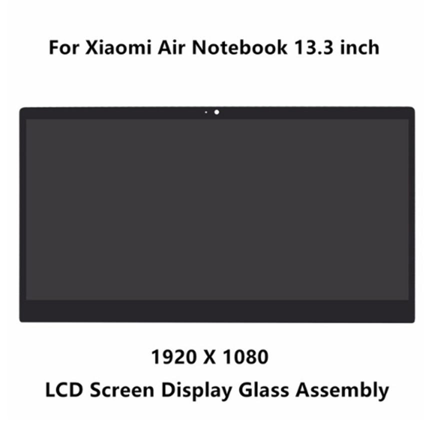 13.3'' front glass led lcd display screen matrix assembly with bezel for Xiaomi LTN133HL09-W LQ133M1JW15 13 3 front glass led lcd display screen matrix assembly with bezel for xiaomi ltn133hl09 w lq133m1jw15