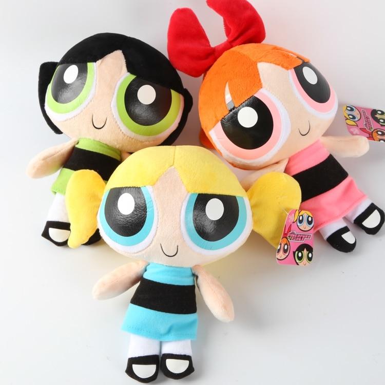 Powerpuff Girls Toys : Free shipping cm the powerpuff girls plush doll bubbles