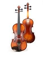 Christina Violino 4 4 Handmade E900 Stradivari Antique Maple Violin 3 4 Musical Instrument With Fiddle