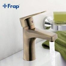 Frap Bronze Bassin robinet En Laiton Robinets corps Mixte chaude et froide robinets d'eau F1030-4