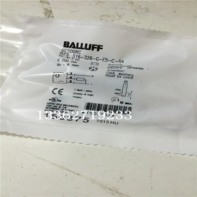 Датчик приближения BES 516-326-G-E5-C-S4 Balluff, новый высококачественный датчик приближения