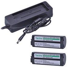 2 pcs 1900 mAh NB-CP2L NB-CP1L Batterij voor Canon NB-CP2LH NBCP2L CG-CP200 Photo Printers SELPHY CP800 CP900 CP910 Batterij + lader