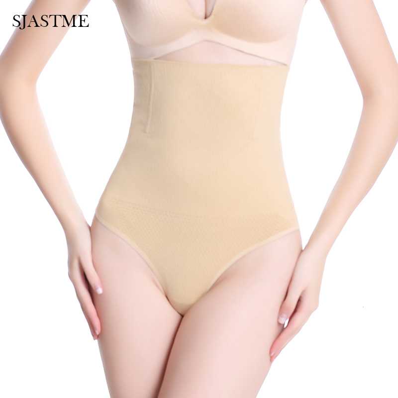 8daa1dd11c0 SJASTME Women Waist Cincher Girdle Tummy Slimmer Sexy Thong Panty Shapewear  Waist Trainer Slimming Body Shaper Panties-in Control Panties from Underwear  ...