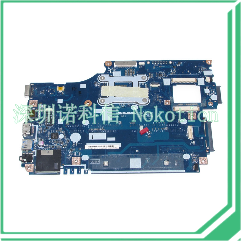 NOKOTION V5WE2 LA-9532P REV 1A NBMFM11007 NB.MFM11.007 For acer aspire E1-572 E1-572G laptop motherboard i5-4200U original laptop motherboard for acer e1 571 q5wv1 la 7912p rev 2 0 nbm6b11001 nb m6b11 001 gt710m non integrated graphics card