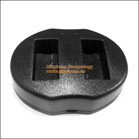 50Pcs Lot Equivalent CB 2LC Dual USB Charger For Canon NB 10L Batteries For Powershot Cameras